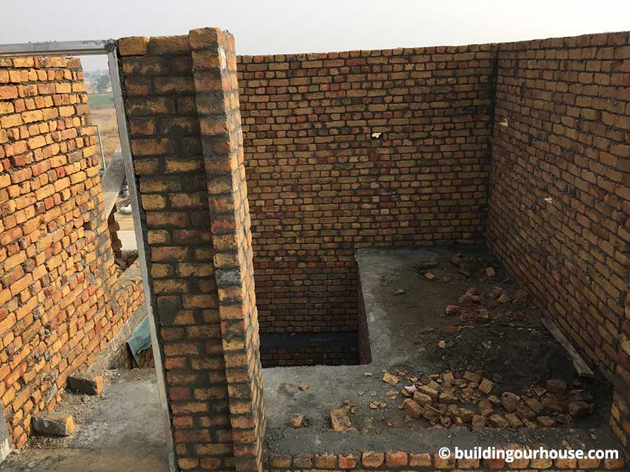 Mumty Room Parapet And Water Tank Construction Update 9