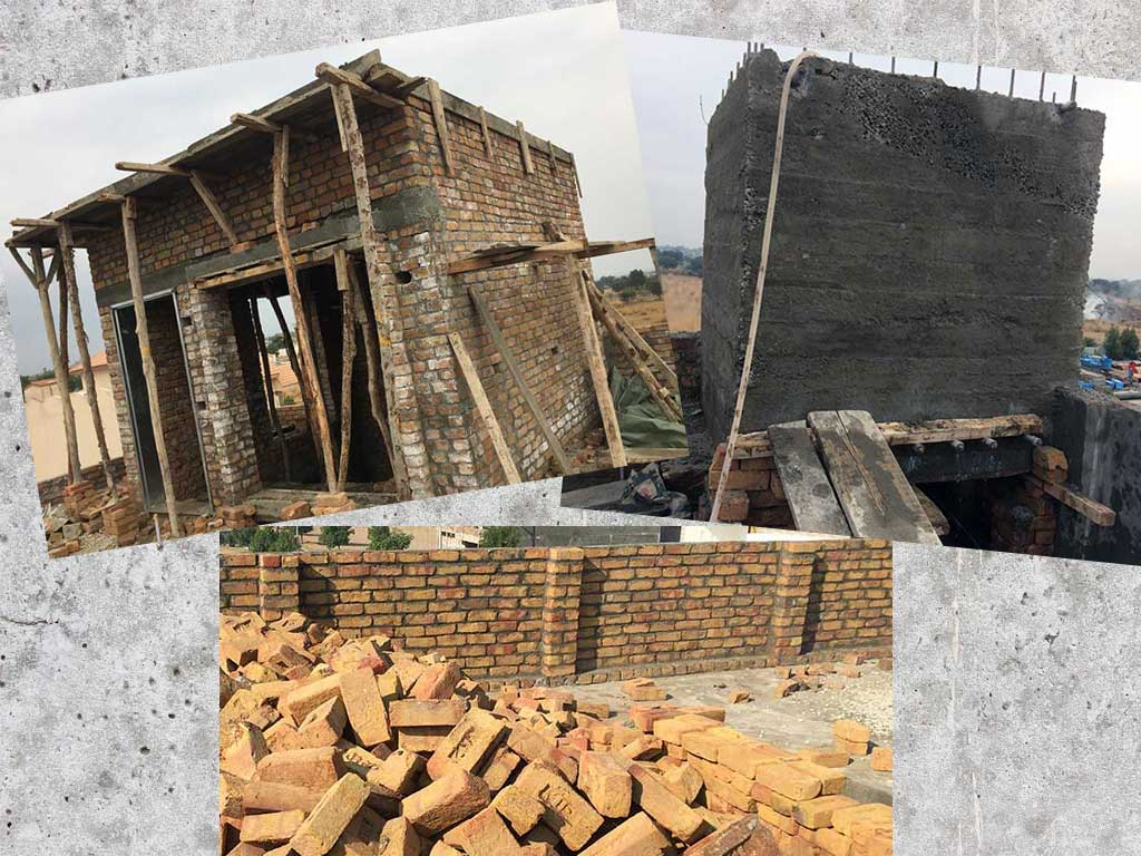 Mumty Room, Parapet and Water Tank - Construction Update 9